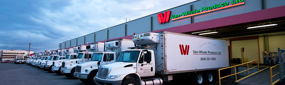 Van-Whole Produce – Service with Quality